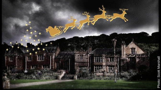 A Christmas Mystery.Murder At The Manor A Christmas Mystery Halsway Manor